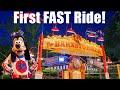 Michael's First Roller Coaster (He's Not A Fan!) -