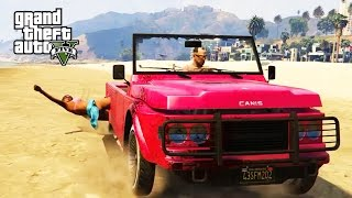 GTA 5 - RANDOM & FUNNY MOMENTS  (Messing With Civilians, Funny RKO's!)