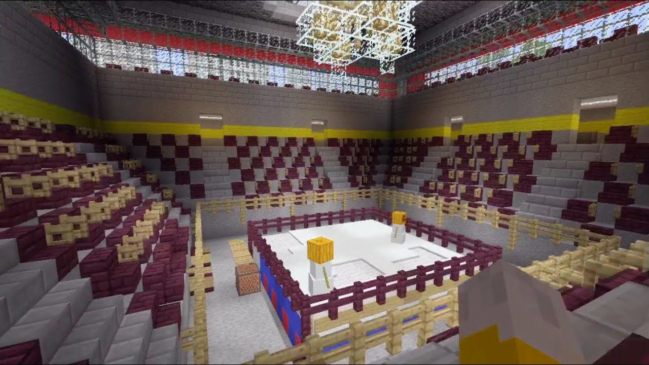 Minecraft Xbox Boxing Ring SPANKLECHANKs World Tour
