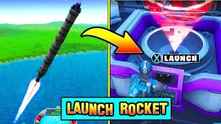 *NEW* LAUNCH THE ROCKET! Season 5 Countdown (Fortnite Storyline)