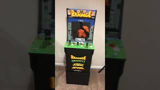 Arcade 1up Cabinets with Homemade Risers
