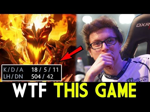 Miracle- Dota 2 [Shadow Fiend] WTF This Game!!!