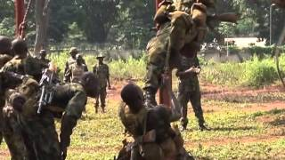 Nigeria Army Embarks On Obstacles Crossing