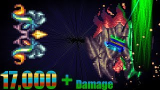 terraria crazy buffed up Heavenly Gale vs Supreme Calamitas and vanilla bosses