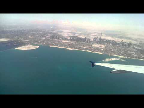 Indigo - 6E 38 (DXB - TRV) - Takeoff from Dubai Airport