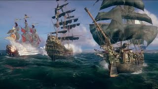 Skull and Bones The Hunting Grounds Gameplay Trailer - E3 2018