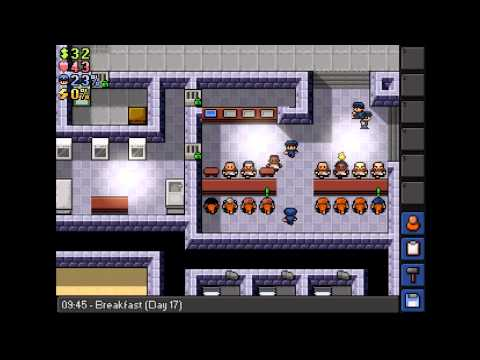 Silver's The Escapists Let's Play Part 5 (Tunnel Escape!)