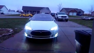 Tesla Model S 7.1 Summon Exit