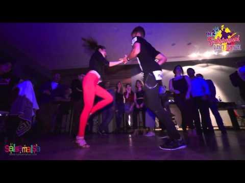 Reda Becili & Katia Carol Paslikian Social Salsa Dance - 2.Salsensual Dance Festival Lebanon