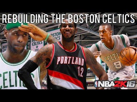NBA 2K16 MyLEAGUE: Rebuilding the Boston Celtics!