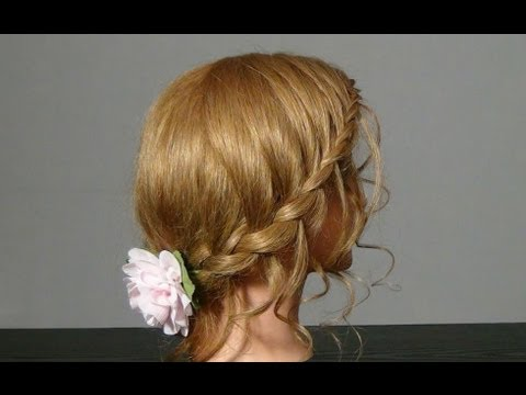 прически на средние волосы на жидкие волосы