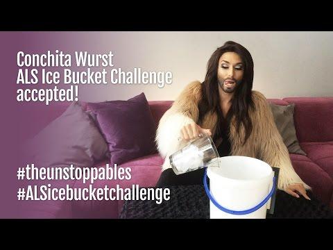 Conchita Wurst - #ALSIceBucketChallenge accepted!