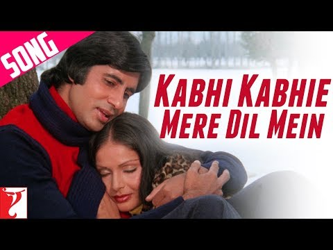 Kabhi Kabhi Mere Dil (female) - Song - Kabhi Kabhie video
