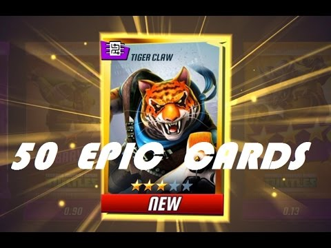 "Teenage Mutant Ninja Turtles Legends | ""Epic Card Pack Opening"" 