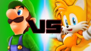 Luigi Vs Tails (Rap Battle Of Video Games All-Stars)(Season 2)