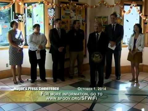 Mayor Lee & Supervisor Farrell Launch Free Wi-Fi Across 32 San Francisco Parks