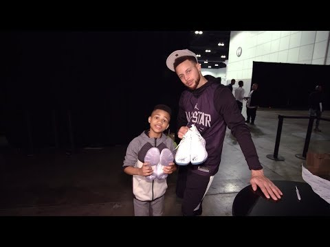 Kid Trainer Demarjay Goes To 2018 Nba All Star Game