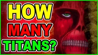 HOW MANY Colossal Titans Are in Walls? Colossal Wall Titans Mystery Solved! Attack on Titan Anime