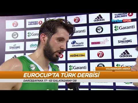 Ribaund - 31 Ocak 2018 I Darüşşafaka - Galatasaray Maç Sonu