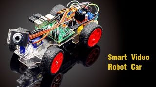 Smart Video Robot Car Kit for Raspberry Pi 3 Project with Remote Control by PC/Python Code