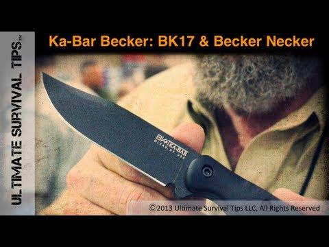 NEW! Ka-bar Becker BK7 and BK11 Neck Knife - Interview with Designer Ethan Becker