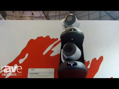 Integrate 2016: Vaddio Features RoboTRAK Automatic Tracking System on the Midwich AV Stand
