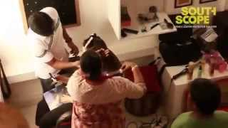 heroine thamanna behaviour in makeup room leaked video