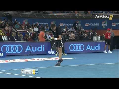 Roger Federer best points at IPTL 2014