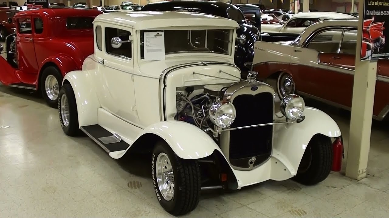 1930 Ford Five Window Coupe Hot Rod Youtube