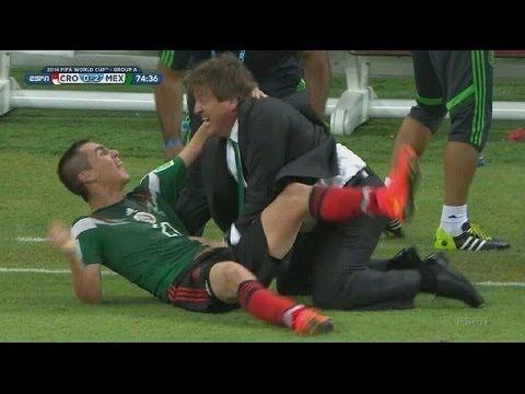 Mexico vs Croacia 3-1  Copa mundial Brasil 2014  Resumen HD Celebracion Goles Piojo Futbol Picante