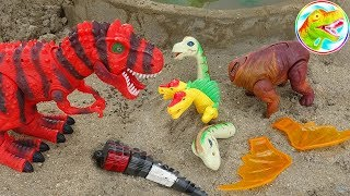 Assemble parts for fun dinosaurs - I71C toys ToyTV