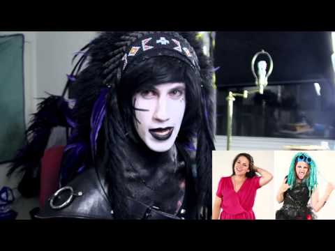 Goth Guy Reacts to Women Wear Goth Fashion for a Week on Buzzfeed