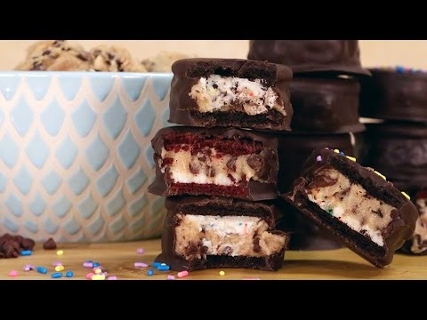 How to Make Oreos Stuffed With Chocolate Chip Cookie Dough - Töltött Oreo