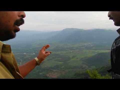 Kerala & Tamilnadu from mountain at Kumeli - what a beautiful view from the