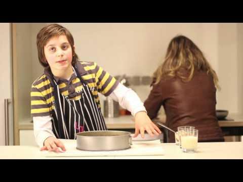 Arte na cozinha - Bolo de chocolate