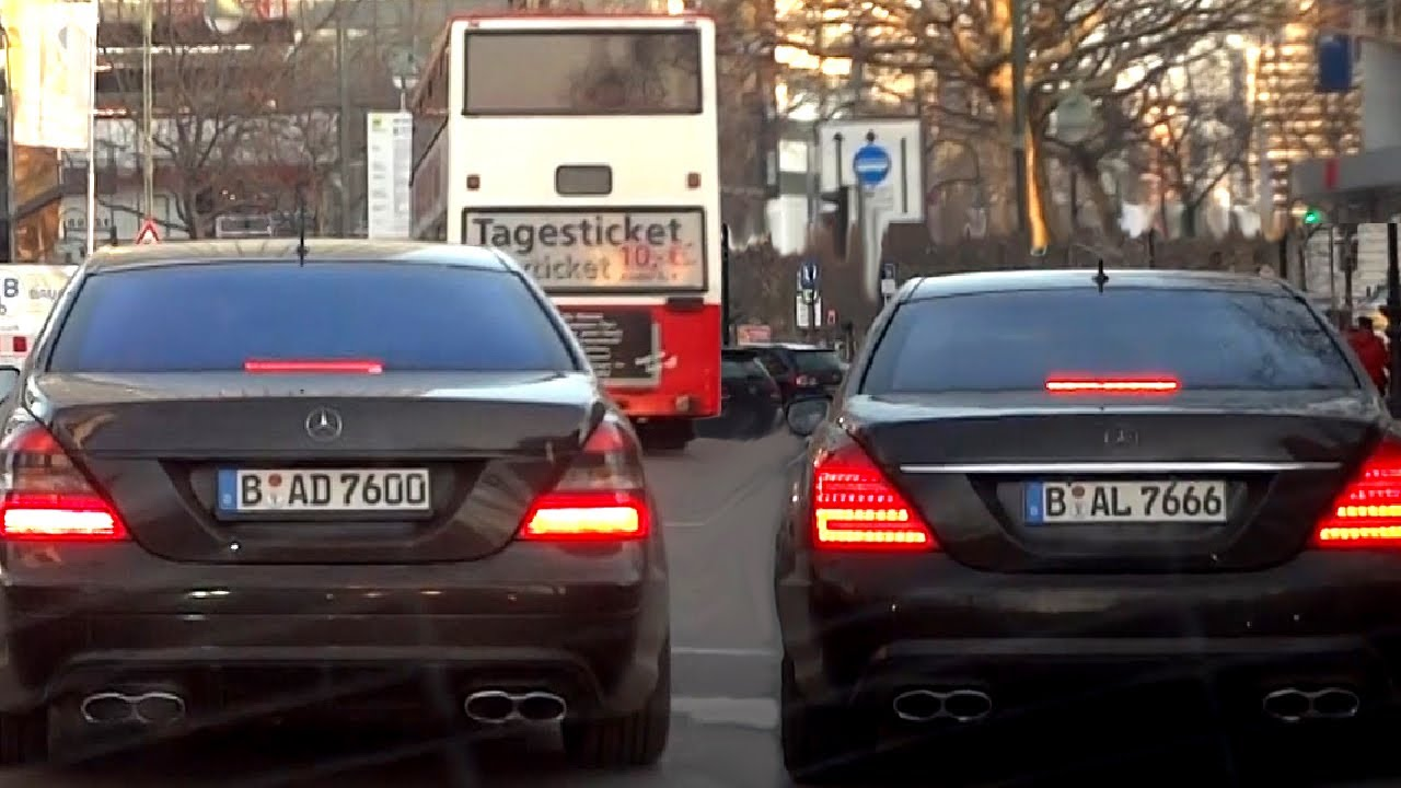 Mercedes S65 Amg S63 Amg Sound Exhaust Difference