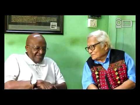 Desmond TuTu met with U Win Tin, March 01, 2013 at YGN