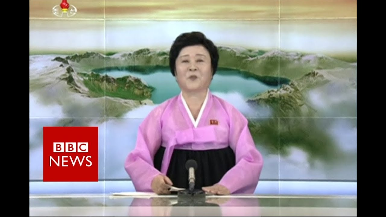 North Korea's announcement - BBC News
