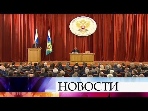 Отстаивание национальных интересов, отношения с США и НАТО - заявления Владимира Путина.