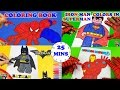 SuperHeroes Coloring Book Pages Spiderman Ironman Avengers Lego Batman Coloring Book ToyfunTV mp3