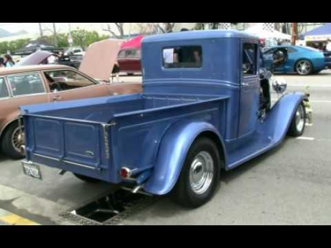 1934 ford pickup truck blue youtube. Black Bedroom Furniture Sets. Home Design Ideas