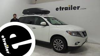 Thule Roof Box Review - 2018 Nissan Pathfinder - etrailer.com