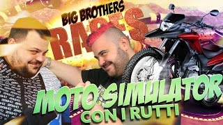 BIG BROTHERS RACES : Moto Simulator con i Rutti | GTA 5