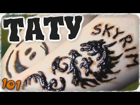 Временная татуировка! Временное тату хной в домашних условиях! Трафарет для тату - Отец и Сын №101