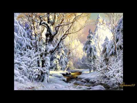 П.И. Чайковский. Времена года, зима, январь.