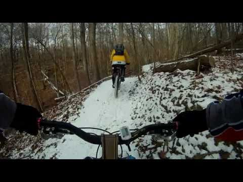 "Harmonie State Park Mountain Bike Trail ""Walnut Conector"""