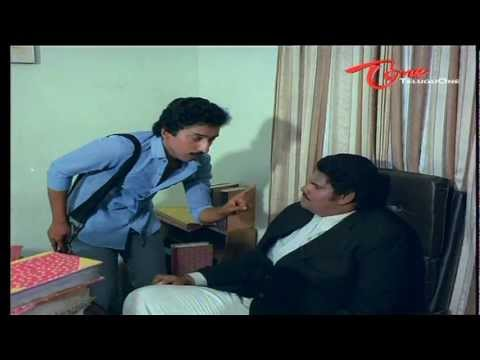Comedy Scene - Kalyana Chakravarthi Scares Lawyer