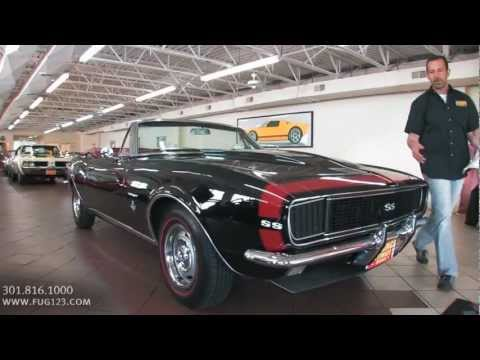 1967 Chevrolet Camaro RS SS Convertible FOR SALE flemings ultimate garage