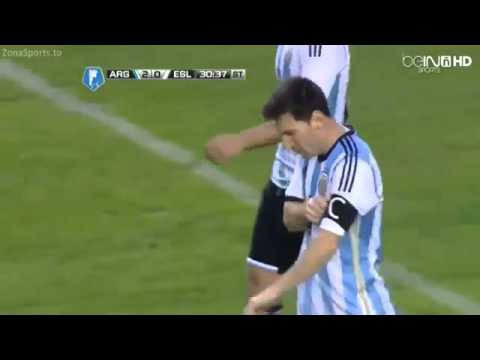 Argentina vs Slovenia 2-0 ~ Lionel Messi - Goal ~ 07.06.2014 HD