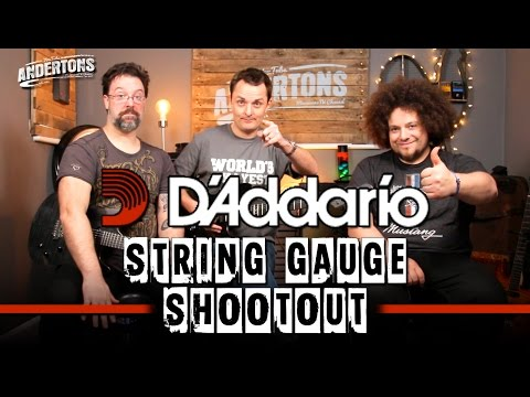 D'Addario String Gauge Shoot Out - Can You Tell The Difference??